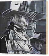 John Wayne Rio Lobo Collage Old Tucson Arizona 1970-2009 Wood Print