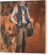 John Wayne The Cowboy Wood Print