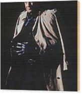 Johnny Cash Trench Coat Old Tucson Arizona 1971 Wood Print