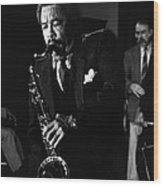 Johnny Griffin 3 Wood Print
