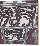 Johnny Manziel 16 Wood Print