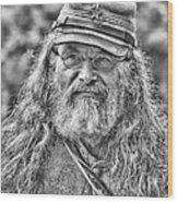 Johnny Reb Wood Print