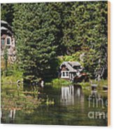 Johnny Sack Cabin Wood Print