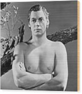 Johnny Weissmuller, Ca. Mid-1930s Wood Print