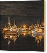 John's Cove Reflections Wood Print