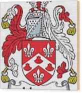 Johnson Coat Of Arms Irish Wood Print