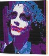 Joker 12 Wood Print