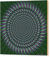 Joker Mandala Wood Print