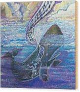 Jonah's Turning Point Wood Print