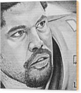 Jonathan Ogden Wood Print by Don Medina