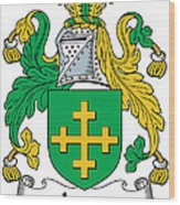 Jones Coat Of Arms Kildare Ireland  Wood Print