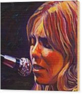 Joni Mitchell..legend Wood Print
