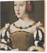 Joos Van Cleve 1485-1541. Eleanor Wood Print by Everett
