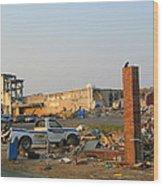 Joplin After Ef-5 Tornado Wood Print