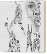 Jordan At His Best Wood Print by Joe Rozek