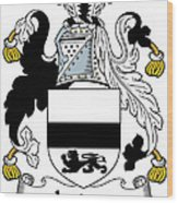 Jordan Coat Of Arms Irish Wood Print
