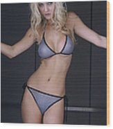 Jordan Mesh Bikini Wood Print