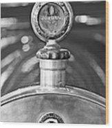 Jordan Motor Car Boyce Motometer 2 Wood Print by Jill Reger
