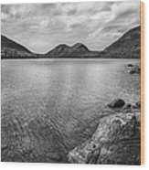 Jordan Pond Acadia National Park Maine. Wood Print