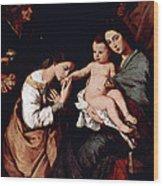 Jos De Ribera Wood Print