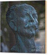 Jose Marti Statue Cadiz Spain Wood Print