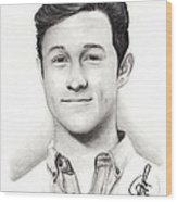 Joseph Gordon Levitt 2 Wood Print