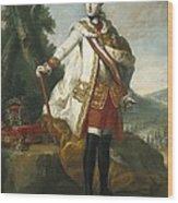 Joseph II  Of Habsburg 1741-1790 Wood Print