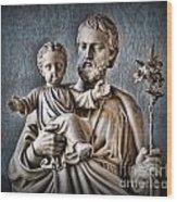 Joseph Of Nazareth Wood Print by Lee Dos Santos