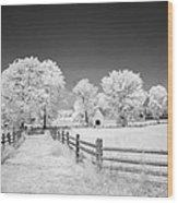 Joseph Poffenberger Farm 8d00231 Wood Print