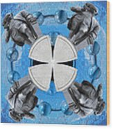 Joseph Priestley Oxygen Wood Print