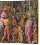 Joseph Sold To Potiphar Wood Print