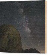 Joshua Tree Milky Way 2 Wood Print