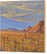 Joshua Tree National Park 2 Wood Print