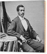 Josiah Thomas Walls (1842-1905) Wood Print
