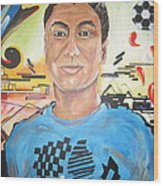 Josias 1991-2012 Wood Print by Erik Franco