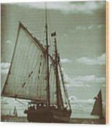 Journey Back Wood Print