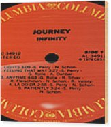 Journey - Infinity Side 1 Wood Print