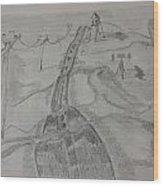 Journey Of Life Wood Print