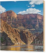 Journey Through The Grand Canyon Wood Print