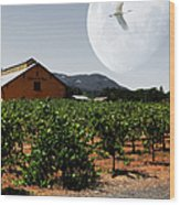 Journey Through The Valley Of The Moon 5d24485 Square Wood Print by Wingsdomain Art and Photography