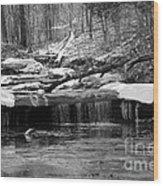 Joy Falls Kentucky  Wood Print