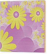 Joy Of Spring Wood Print
