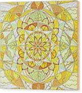 Joy Wood Print by Teal Eye  Print Store