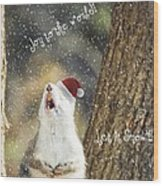 Joy To The World Wood Print