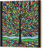 Joyce Kilmer's Tree Wood Print