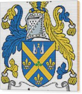 Joynt Coat Of Arms Irish Wood Print