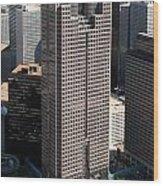 Jp Morgan Chase Tower Dallas Wood Print