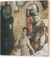 Juan De Flandes  -1519. The Wood Print