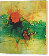 Jubilee - Abstract Art By Sharon Cummings Wood Print