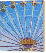 Jubilee Ferris Wheel Wood Print
